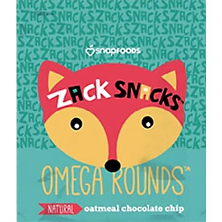 Oatmeal Chocolate Chip Omega Rounds
